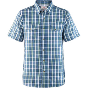 Fjällräven Abisko Cool t-shirt Heren, uncle blue